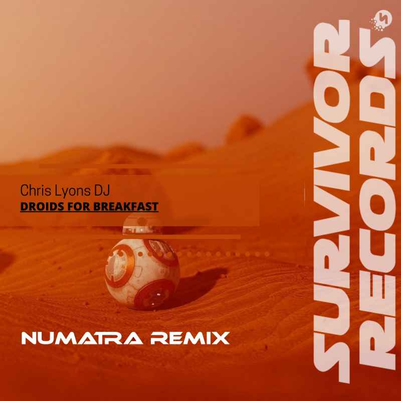 Cover of Droids for Breakfast (Numatra Remix)
